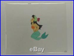 RARE 1953 Walt Disney's Peter Pan Mermaid Animation Production Cel