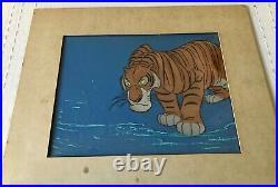 RARE DISNEY JUNGLE BOOK SHERE KHAN Production Animation Cel 1967