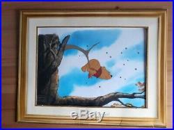 RARE Winnie the Pooh Walt Disney Original Production Animation Cel