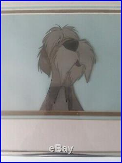Rare 1961 Walt Disney Original Production Animation Cel 101 Dalmations Colonel