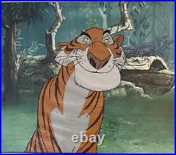 Rare Disney Jungle Book Shere Khan Original Production Animation Cel 1967