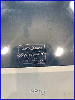 Rare Disney Tv Original Production Cel Of Gargoyles