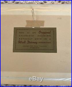 Rare Vintage Goofy Production CEL Gold Art Corner