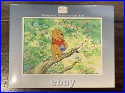 SIGNED PIGLET CEL ART Walt Disney's Winnie The Pooh TV Production John Fiedler