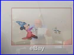 Set of 5 Disney Animation Production Cels Mickey & Donald @ the Oscars (1988)