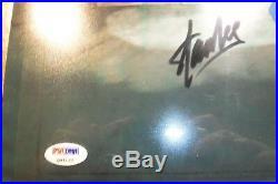 Signed STAN LEE Marvel Disney Spider-man Hand Painted PRODUCTION cel 1981 PSADN