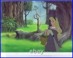 Sleeping Beauty Disney Vintage Original Production Cel of Briar Rose 1959