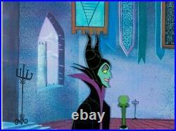 Sleeping Beauty Maleficent Production Cel (Walt Disney, 1959) Very Rare