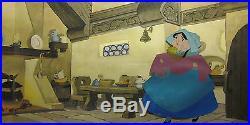 Sleeping Beauty Merryweather Framed Original Production Animation Cel