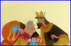 Sleeping Beauty Original Production Cel Animation Walt Disney King Stefan