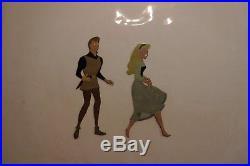 Sleeping Beauty Prince cel Art Corner Disney Original Production cel New Frame