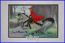 Sleeping Beauty cel Prince Phillip Sampson Art Corner Disney Production cel