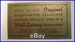 Sleeping Beauty large cel Art Corner Disney Original Production cel New Frame