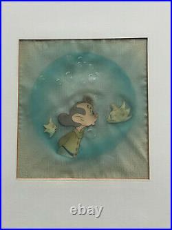 Snow White and Seven Dwarfs Dopey Production Cel Walt Disney Enterprises 1937