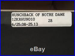 Sotheby's Disney Hunchback of Notre Dame Cel Production Art Esmeralda