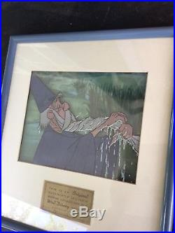 Sword in the Stone Merlin Disneyland Art Corner Original Production Cel (1963)