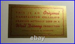 The Aristocats Walt Disney 1970 Production Cel Thomas O'malley Abigail Gabble