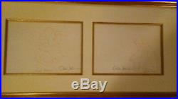 The Prince and Snow White from Disney Snow White 2 original 1937 production cels