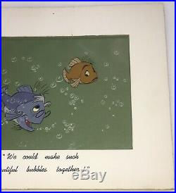 The Sword in The Stone Disney Art Corner Production Animation Cel