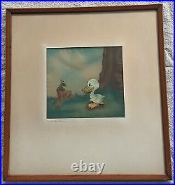 The Ugly Duckling Production Cel Walt Disney Enterprises Courvoisier Gallery