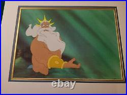 Triton Production Cel, Little Mermaid (1989) Disney