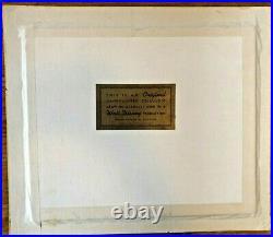 VTG 1960s DONALD DUCK ORIGINAL WALT DISNEY PRODUCTION ANIMATION CEL CELLULOID