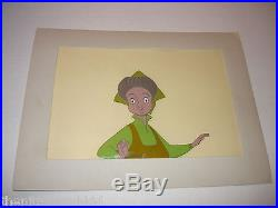 Very Rare Handpainted Production Cel Cell Walt Disney Sleeping Beauty Fauna 1959