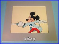 Vintage Disney Mickey Mouse Animation Production Cel
