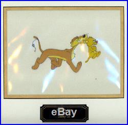WALT DISNEY Father's Lion ORIGINAL PRODUCTION ANIMATION CEL 1952 Goofy