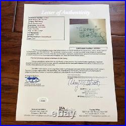 WALT DISNEY JSA LOA Phil Sears Pinocchio Signed Production Cel Autograph