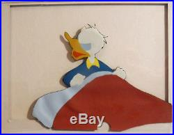 Waking Angry Bed mid-1950s Donald Duck Disney production cel Art Corner Hand Ink