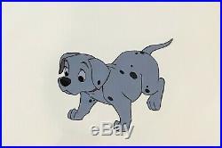 Walt Disney 101 Dalmatians Animation Production Cel of a Puppy (Pepper or Spot)
