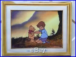 Walt Disney Animation Art Original Production Cel Poohs Grand Adventure
