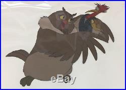 Walt Disney Big Mama Dinky Boomer Original Production Cel Fox & The Hound 1981