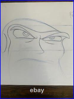 Walt Disney Buzz Lightyear Of Star Command 2000 Original Production Cel Drawing