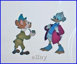 Walt Disney Mickey's Christmas Carol (1983) Production Cel of Scrooge McDuck