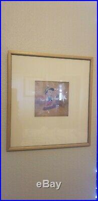 Walt Disney Pinocchio Animation Production Cel Film Used Original Courvoisier