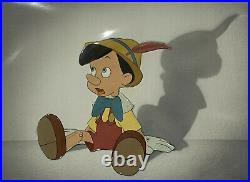 Walt Disney Production Cel from Pinocchio featuring Pinocchio (1940)