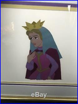 Walt Disney Sleeping Beauty Queen Leah Original Animation Production Cel