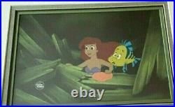 Walt Disney Studios Original Production Cel from The Little Mermaid
