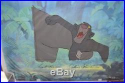 Walt Disney Studios The Jungle Book Original Production Cel Bagheera, Baloo`s Arm