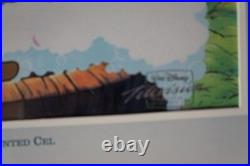 Walt Disney TV Animation CEL Original Production Winnie The POOH Rabbit, TIGER
