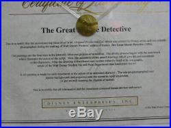 Walt Disney The Great Mouse Detective Original Production Cel Painting Framed