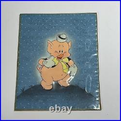 Walt Disney The Practical Pig 1939 Framed Original Production Cel Fifer