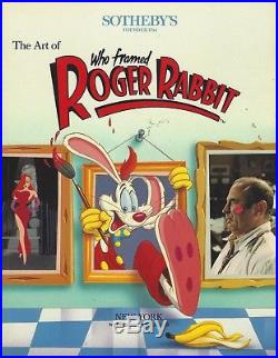 Walt Disney Who Framed Roger Rabbit Production Cel from Sotheby's 1989 Auction