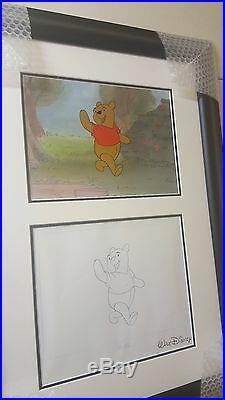 Winnie the Pooh Hand Painted Original Production Cel Disney