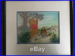 Winnie the Pooh ORIGINAL Disney Studios Production Cel