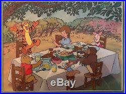 Winnie the Pooh Production Cel ORIGINAL from Walt Disney Studios